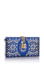 Crystal Embellished Clutch by DOLCE & GABBANA Now Available on Moda Operandi