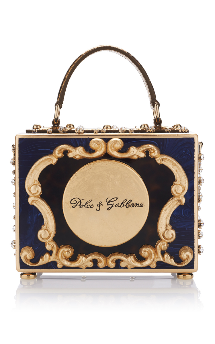 d30cd655b9 Enchanted Clock Box Bag by Dolce   Gabbana