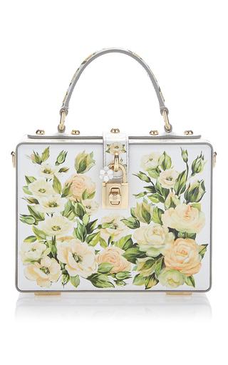 Medium dolce gabbana light blue pastel rose box bag