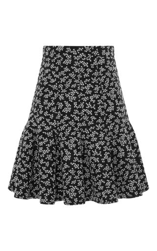 Medium carven floral floral fit and flare skirt