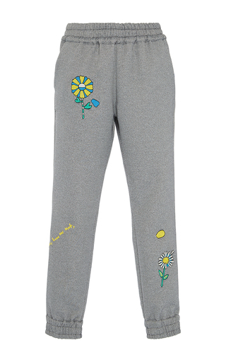 Medium mira mikati dark grey love me joggers