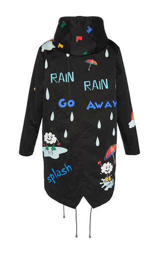 Rain Rain Go Away Coat by MIRA MIKATI Now Available on Moda Operandi