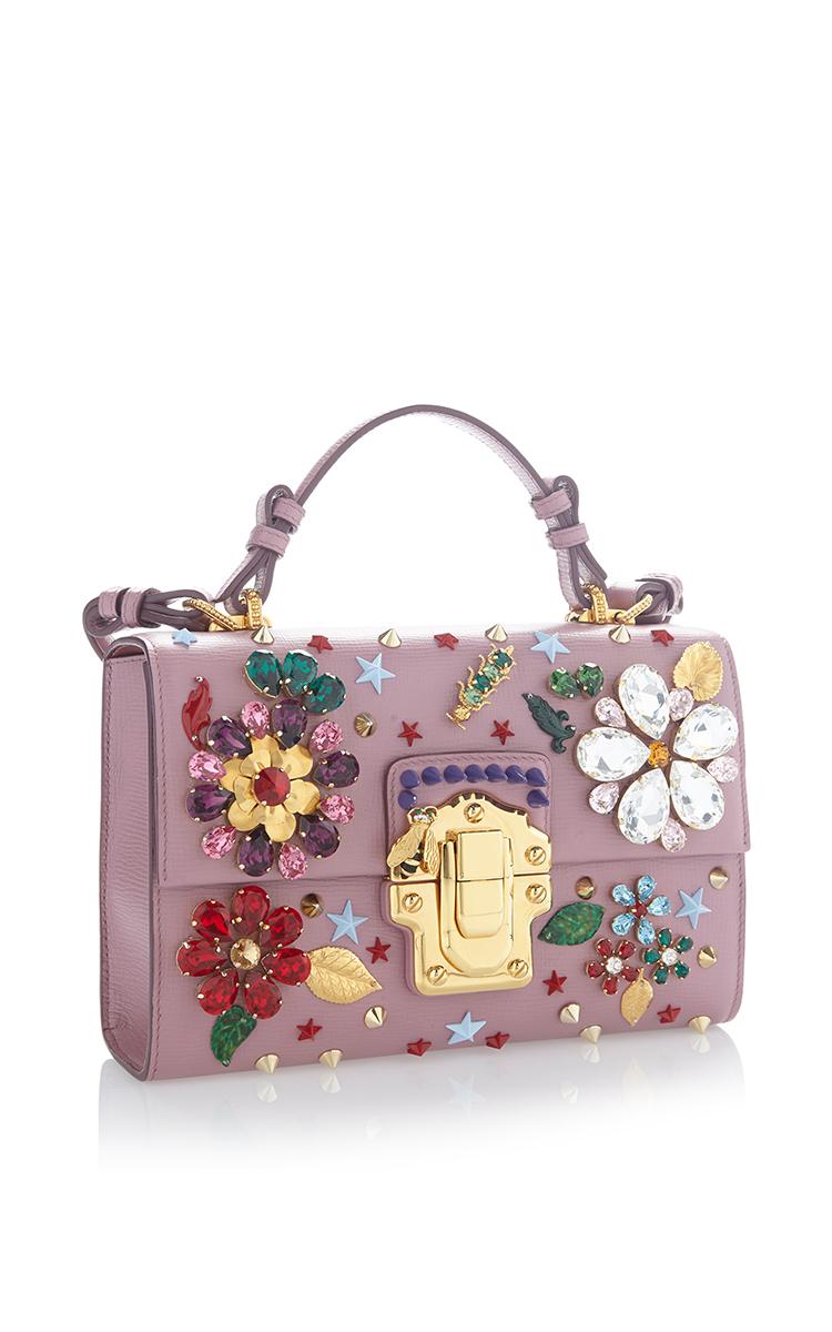 Flower Motif Bag By Dolce Gabbana Moda Operandi