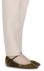 Sequin Ballerina Flat by DELPOZO Now Available on Moda Operandi