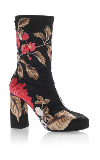 Floral Bootie  by MSGM Now Available on Moda Operandi