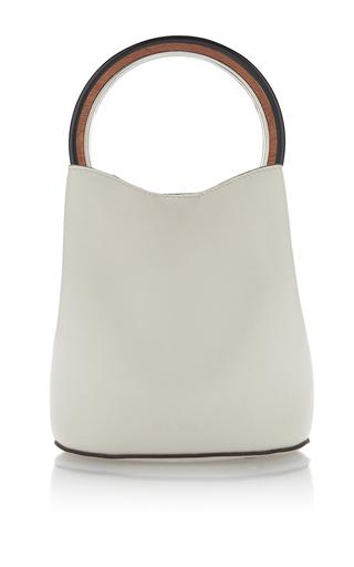 Medium marni white top handle bag