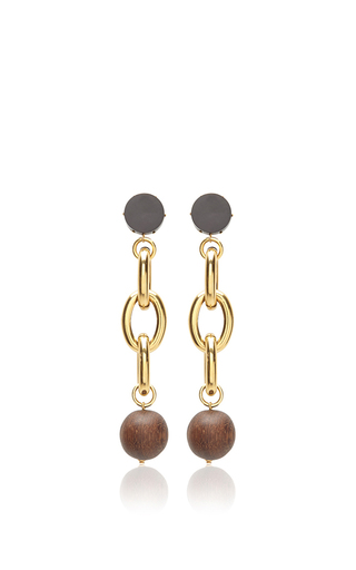 Medium marni multi metal earrings