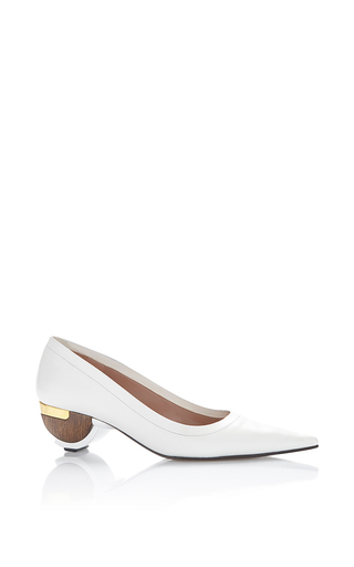 Medium marni white pumps  2
