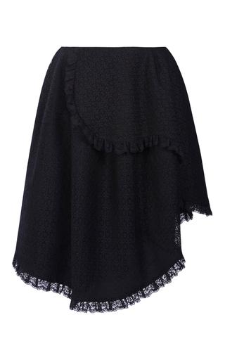 Medium simone rocha black layered mini skirt