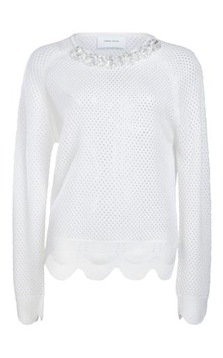 Medium simone rocha white mesh pullover