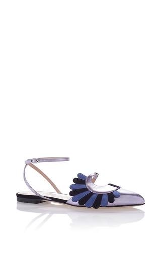 Medium paula cademartori silver averil slipper