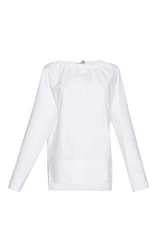 Medium marni white long sleeve crewneck blouse