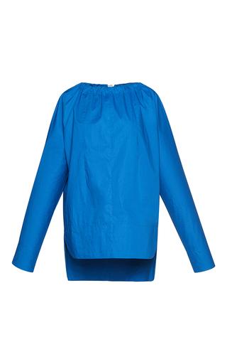 Medium marni blue long sleeve crewneck blouse  2