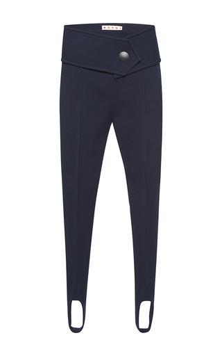 Medium marni navy stirrup trousers  3