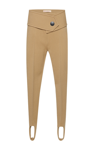 Medium marni nude stirrup trousers  4