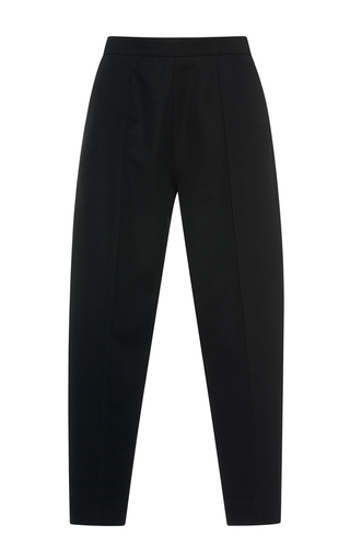 Medium marni black high waisted pleated trousers  2