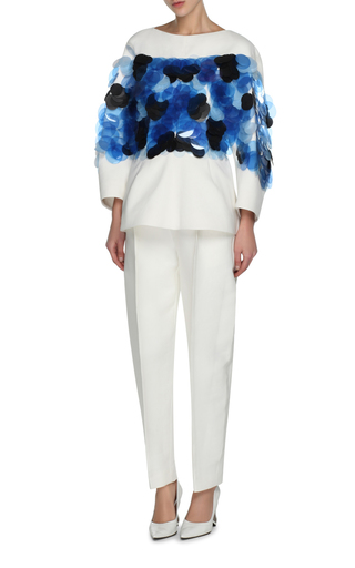 High Waisted Pleated Trousers by MARNI Now Available on Moda Operandi