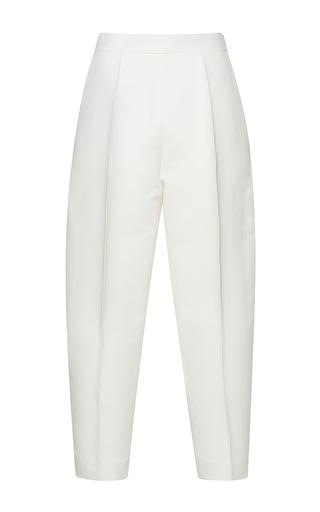 Medium marni white high waisted pleated trousers  3