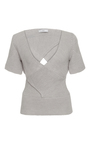 Short Sleeve Bandage Top by TOME Now Available on Moda Operandi