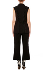 Lace Up Vest by TOME Now Available on Moda Operandi