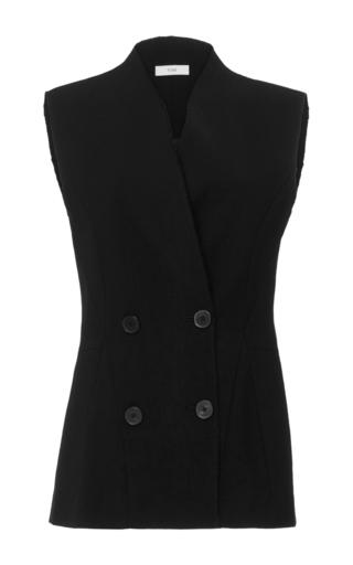 Medium tome black lace up vest 2