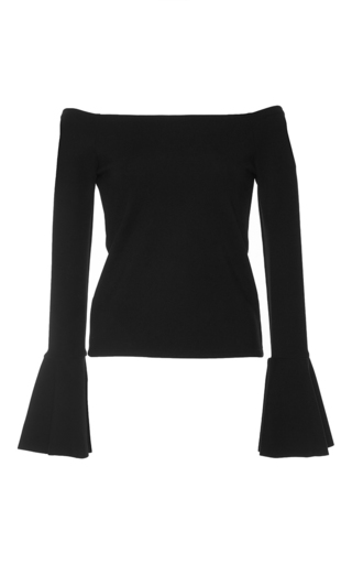 Medium alexis black lindes off the shoulder top