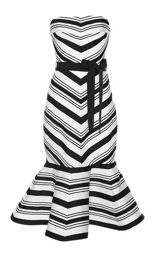 Medium alexis white kirsten strapless dress