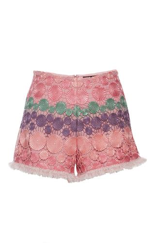 Medium alexis pink kahn shorts