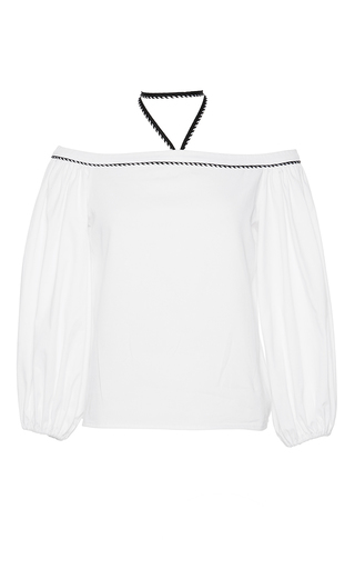 Medium alexis white karen off the shoulder top