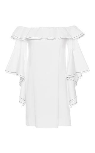 Medium alexis white white rachel ruffle dress