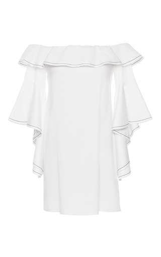 Medium alexis white white rachel ruffle dress
