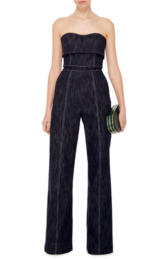 Allen Strapless Jumpsuit by ALEXIS Now Available on Moda Operandi