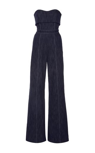 Medium alexis dark wash allen strapless jumpsuit