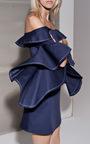 Rachel Ruffle Dress by ALEXIS Now Available on Moda Operandi