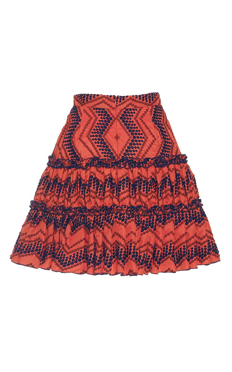 Margarita Ruffled Skirt By Alexis Moda Operandi