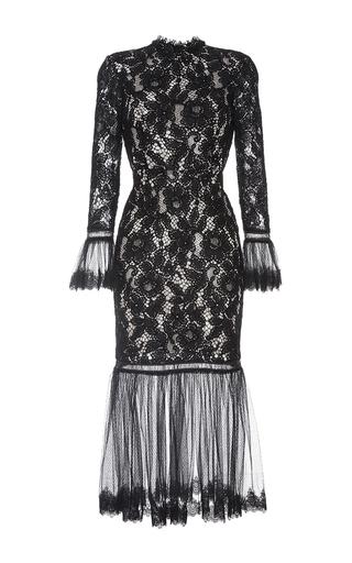 Medium alexis black black lettice lace dress
