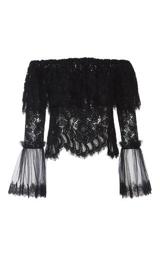 Medium alexis black laurena black lace top