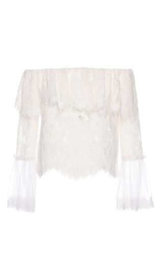 Medium alexis ivory laurena ivory lace top