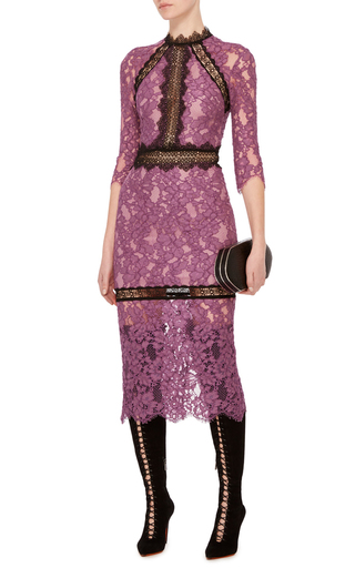 Orchid Marisa Midi Dress by ALEXIS Now Available on Moda Operandi