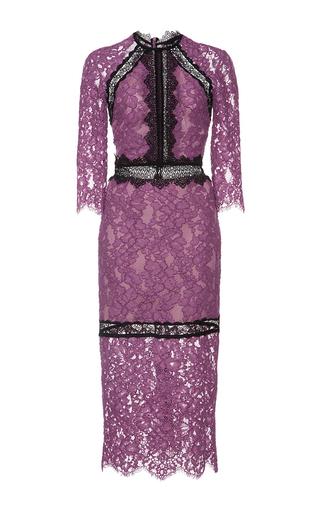 Medium alexis purple orchid marisa lace dress