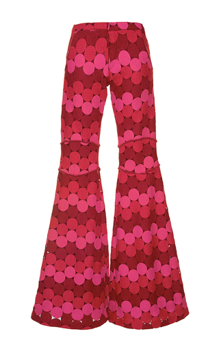 Medium alexis print maxime flared pants