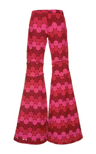 Medium alexis print maxime flared pants