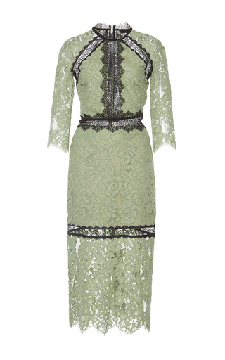 Medium alexis green sage marisa lace dress