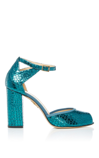 Esther Open Toe Heels by CHARLOTTE OLYMPIA Now Available on Moda Operandi
