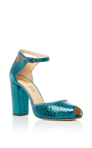 Medium charlotte olympia blue esther open toe heels