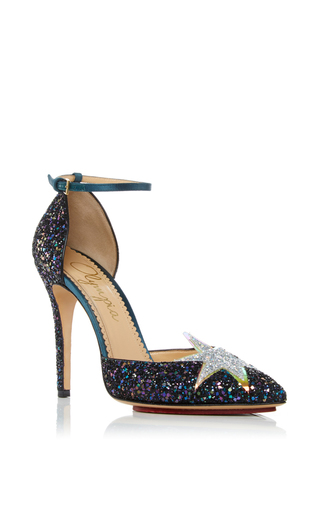 Medium charlotte olympia navy twilight princess heel