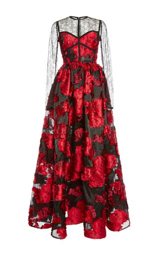 Medium elie saab multi corset top gown