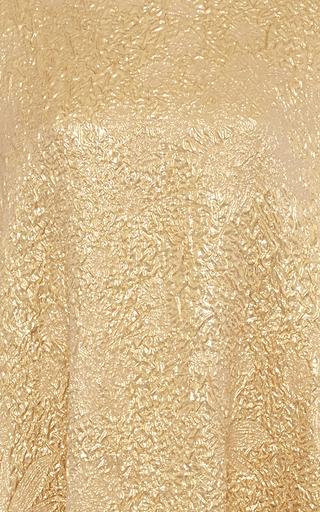 Asymmetric Metallic Dress by ROCHAS Now Available on Moda Operandi