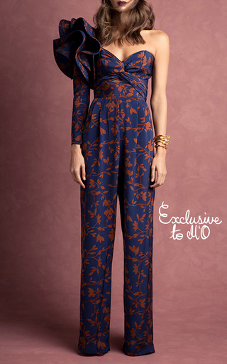M'o Exclusive Francis Drake Jumpsuit by JOHANNA ORTIZ Now Available on Moda Operandi