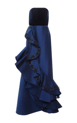Grace Kelly Embellished Strapless Gown By Johanna Moda